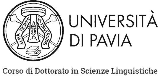 Logo Universita Pavia Linguistica