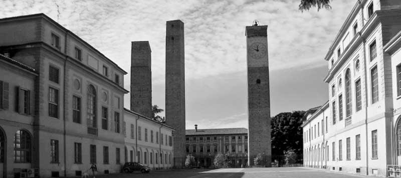 Universita Pavia torri